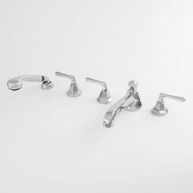 300 Series Roman Tub Set with Diverter Handshower and Windham Handle (available as trim only P/N: 1.301093T)