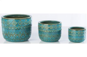 Namaste Cachepot - Set of 3