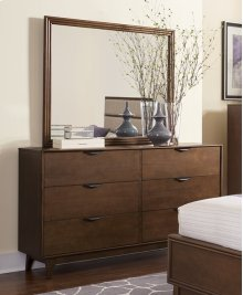 Drawer Dresser - Cinnamon Finish