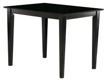 Shaker Pub Table 36x48 in Espresso