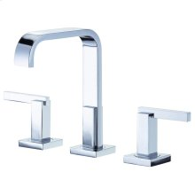 Chrome Sirius® Two Handle Widespread Lavatory Faucet