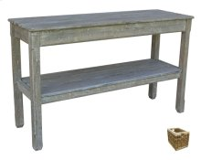 Cottage Plank Console Table