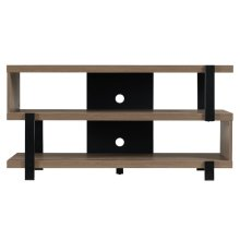 This TV stand offers a modern, retro design for a captivating look. The TV ...