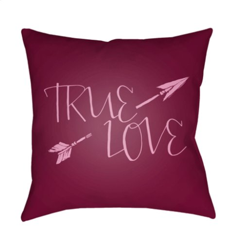 "True Love HEART-025 20"" x 20"""