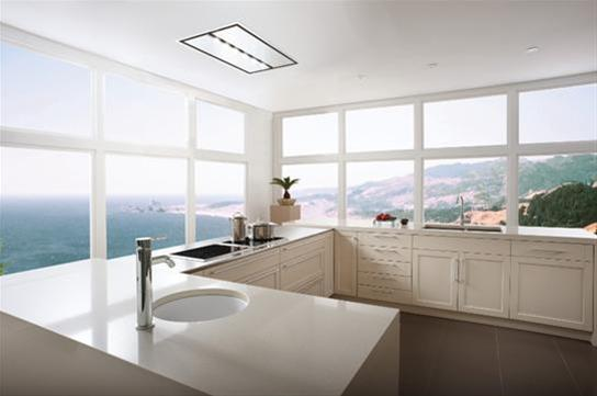 Hidden · Additional CIRRUS   CC34IQSB   Brushed Stainless Steel Ceiling  Mounted Range Hood