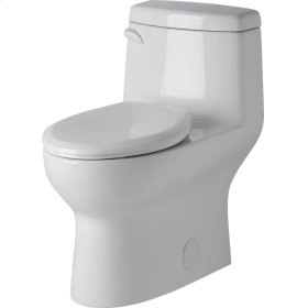 "White Avalanche® Ct 1.28 Gpf 12"" Rough-in One-piece Elongated Ergoheight Toilet"