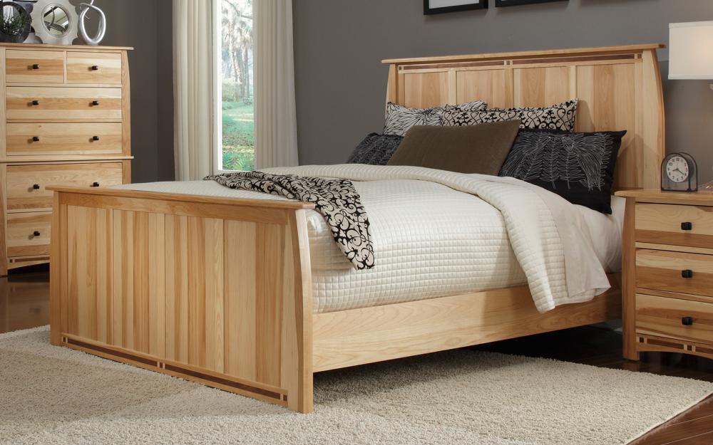 King Panel Bed Hidden