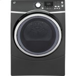 GE®7.5 cu. ft. Capacity Front Load Gas Dryer with Steam