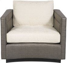 Henderson Harbor Button Tufted Seat Swivel Chair 9052-SW