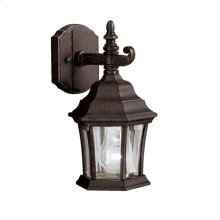 Townhouse 1 Light Wall Light Tannery Bronze