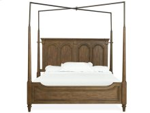 Complete Cal.King Canopy Bed