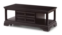 Camberly Rectangular Lift-Top Coffee Table with Casters