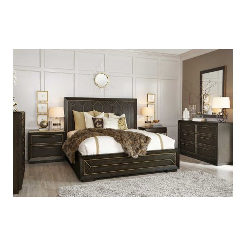 WoodWright Eichler Panel Queen Bed