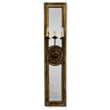 Three Arm Mirror Sconce (large)