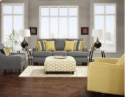 Maxwell Gray Sofa and Loveseat Product Image