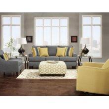 Maxwell Gray Sofa and Loveseat