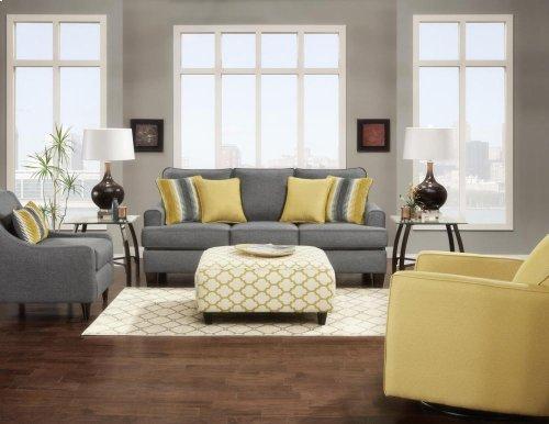 Fusion 2600S Maxwell Gray Sofa