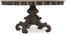 Arabella 60in Round Pedestal Dining Table
