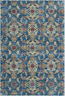 Cordoba Crd05 Denim Rectangle Rug 5'3'' X 7'3''