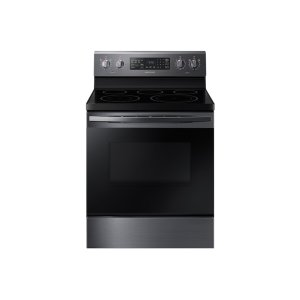 Samsung5.9 cu. ft. Freestanding Electric Range with Convection in Black Stainless Steel