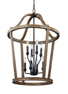 8 - Light Two Tier Chandelier