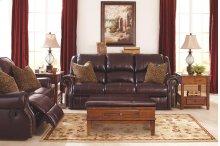 Walworth - Blackcherry 6 Piece Living Room Set