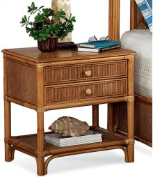 Summer Retreat 2 Drawer Nightstand
