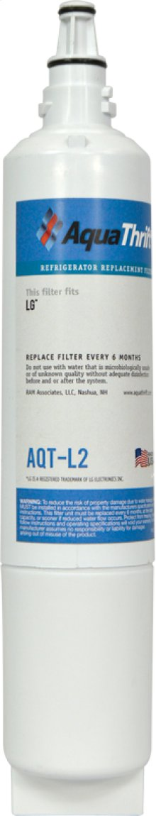 Refrigerator Replacement Filter fits in place of LG 5231JA2006B comparable models