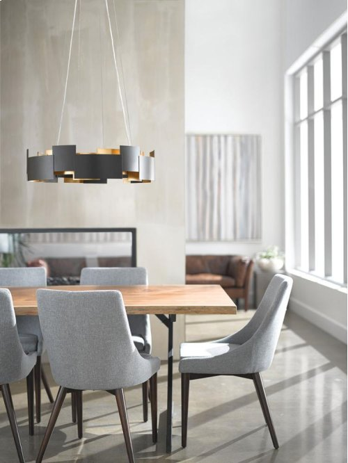 Moderne Collection Moderne 2 Light LED Chandelier/Pendant SN