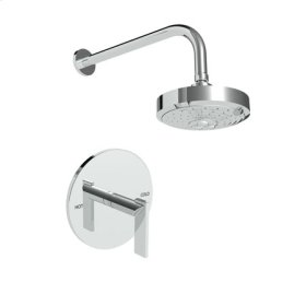 Polished Nickel - Natural Balanced Pressure Shower Trim Set