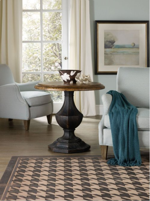 Sanctuary Round Accent Table