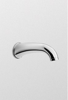 Brushed Nickel Silas™ Wall Spout