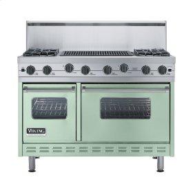 """Sage 48"""" Sealed Burner Range - VGIC (48"""" wide, four burners 24"""" wide char-grill)"""