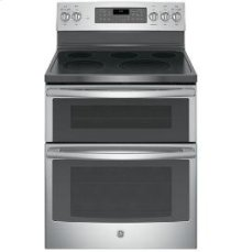 """30"""" Free Standing Electric Double Oven Self Clean Range"""
