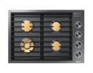 """30"""" Drop-In Gas Cooktop, Graphite Stainless Steel, Natural Gas Product Image"""