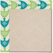 Creative Concepts-White Wicker Ocean Current Seasp Machine Tufted Rugs