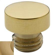 Vintage Brass Button Finial