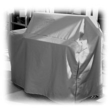 """52"""" Outdoor Grill Cart Cover"""