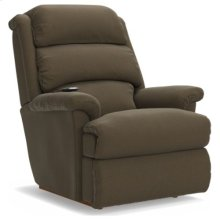 Astor Power Rocking Recliner w/ Head Rest & Lumbar