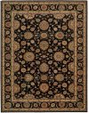 LIVING TREASURES LI05 BLK RECTANGLE RUG 7'6'' x 9'6''