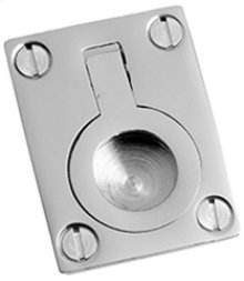 "Chrome Plate Flush ring, 1 1/4"" x 1 3/4"""