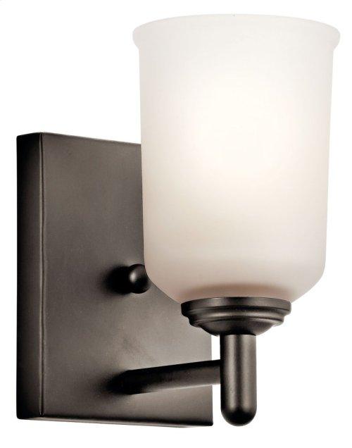 Shailene 1 Light Wall Sconce Olde Bronze®