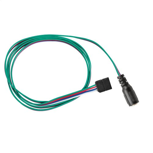 LED Tape 2ft Supply Lead BK