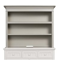 Oyster Grey Nantucket Hutch Product Image