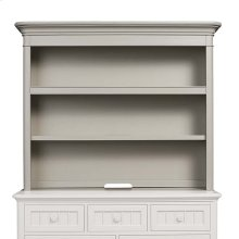 Oyster Grey Nantucket Hutch