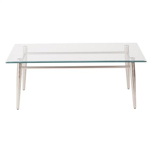 Brooklyn Glass Top Coffee Table