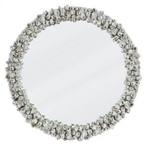 Regina Andrew Barnacle Mirror (Silver)
