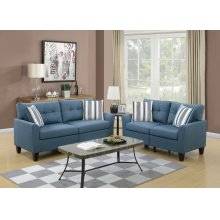 F6535 / Cat.19.p37- 2PCS SOFA BLUE