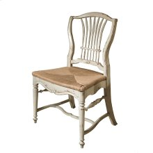 Wheat Side Chair with Rush Seat