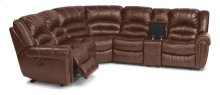 Crosstown Leather Power Reclining Sectional